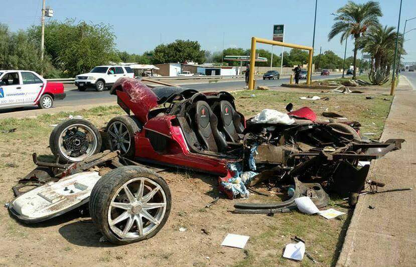 One-Off Koenigsegg CCX Crashes Heavily in Mexico