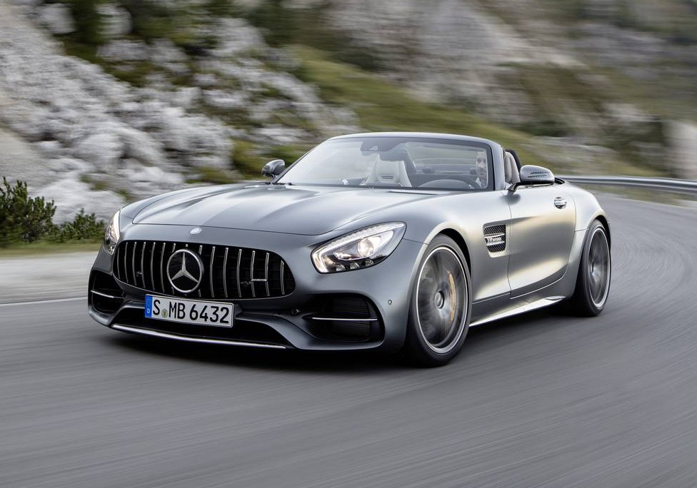 Official: 2017 Mercedes-AMG GT C Roadster