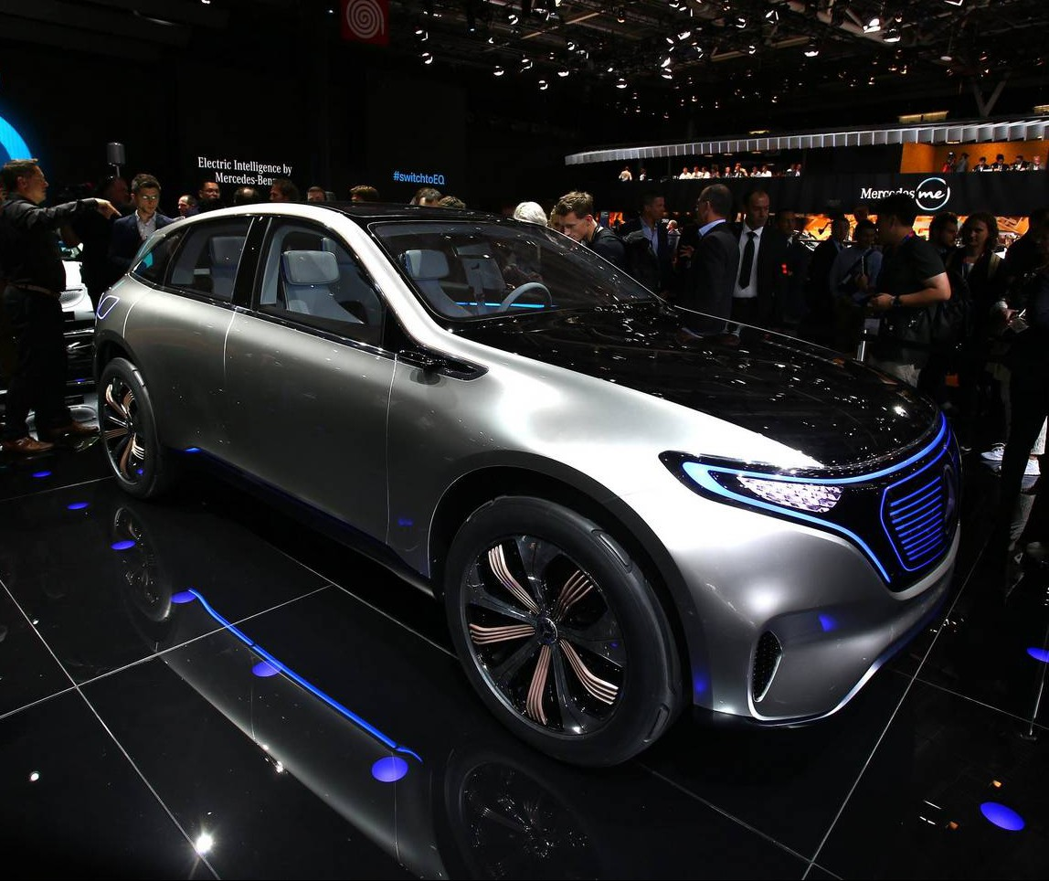 Mercedes-Benz at the Paris Motor Show 2016