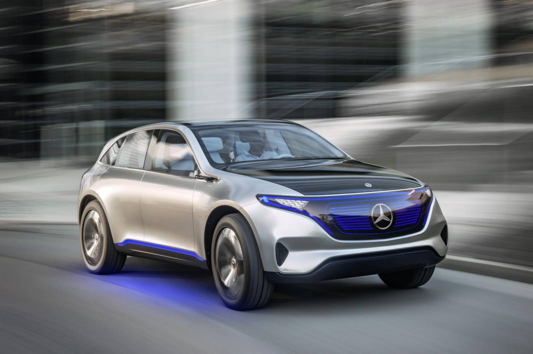 Official Mercedes Benz Generation Eq Full Electric Suv