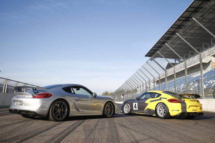 Porsche Cayman GT4  and GT4 Clubsport