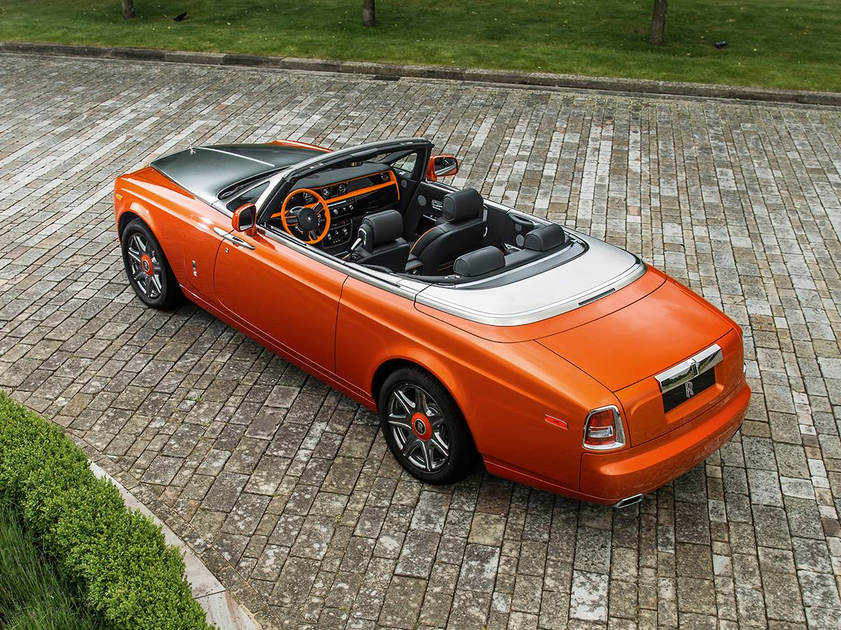 Rolls Royce Phantom Drophead Coup 233 Beverly Hills Edition