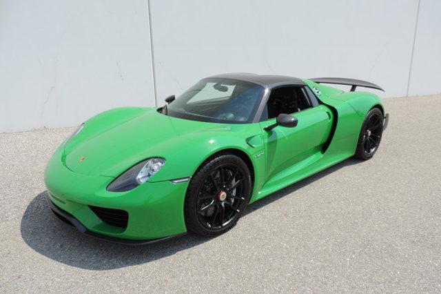 Viper Green Porsche 918 Spyder For At 1 999