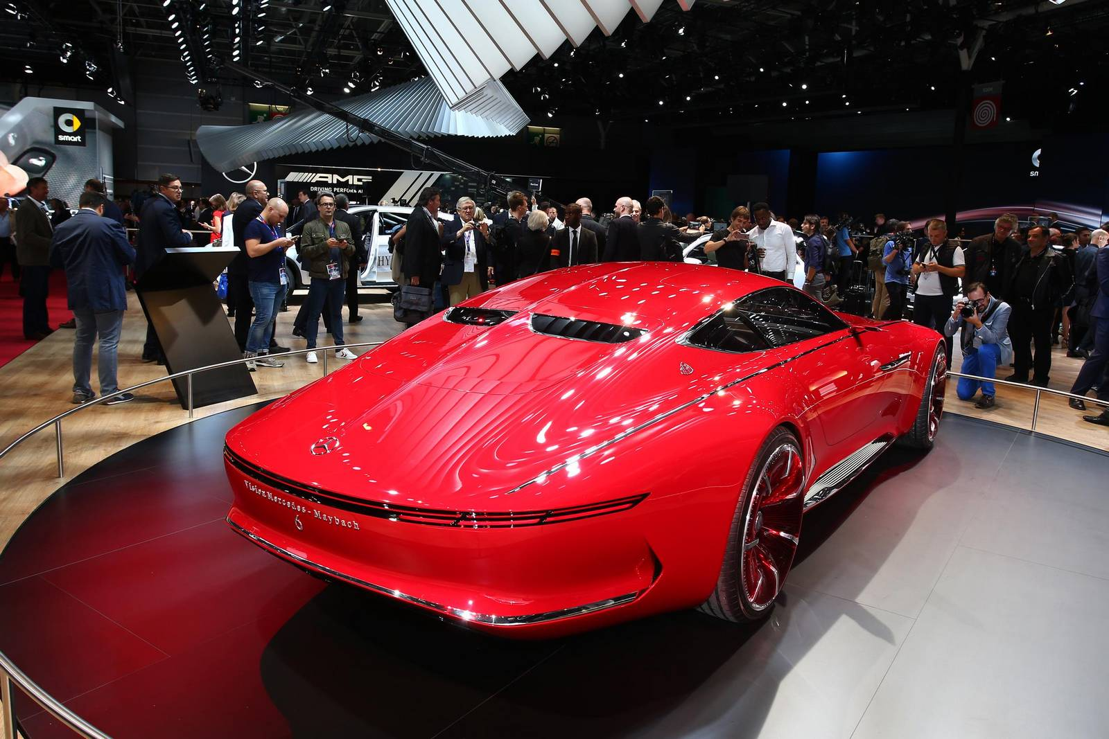 Vision Mercedes-Maybach 6 Cabriolet Set for Pebble Beach ...