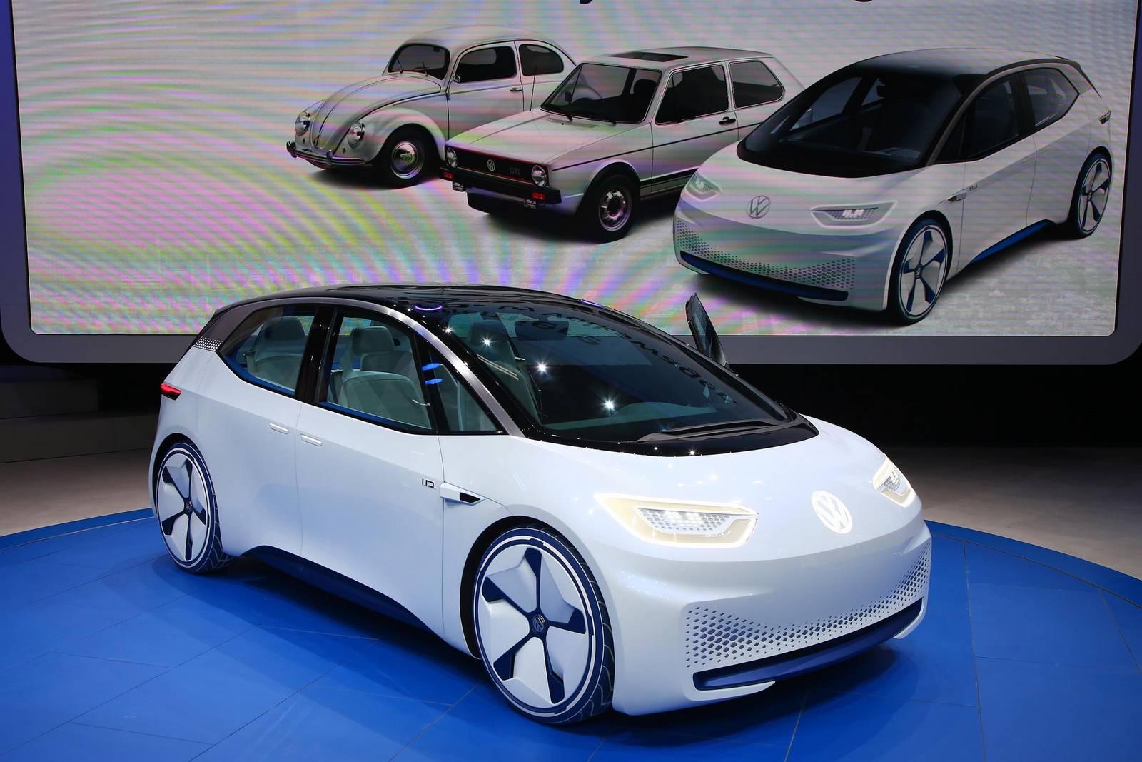 paris 2016 volkswagen i d electric concept car gtspirit. Black Bedroom Furniture Sets. Home Design Ideas