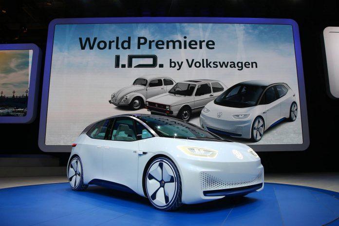 Volkswagen I.D. Electric Concept Car (7)