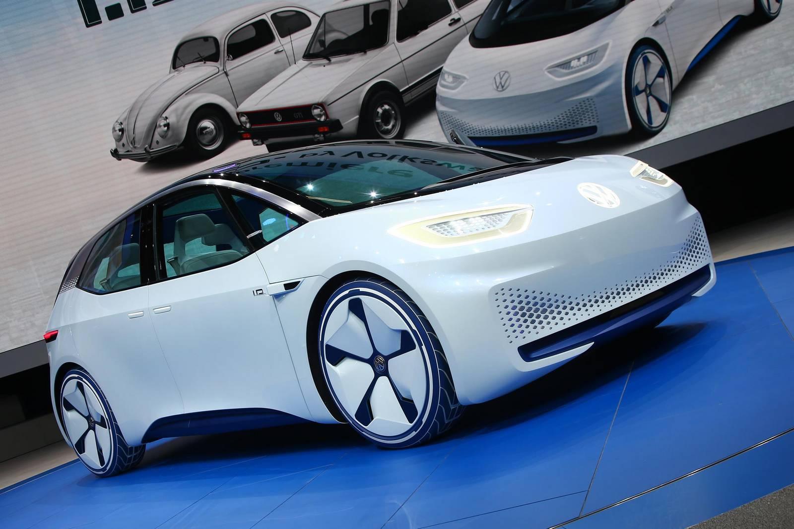 Paris 2016: Volkswagen I.D. Electric Concept Car