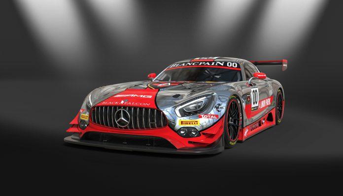 Mercedes-AMG GT3 mit Racing-Design by Linkin Park  //  Mercedes-