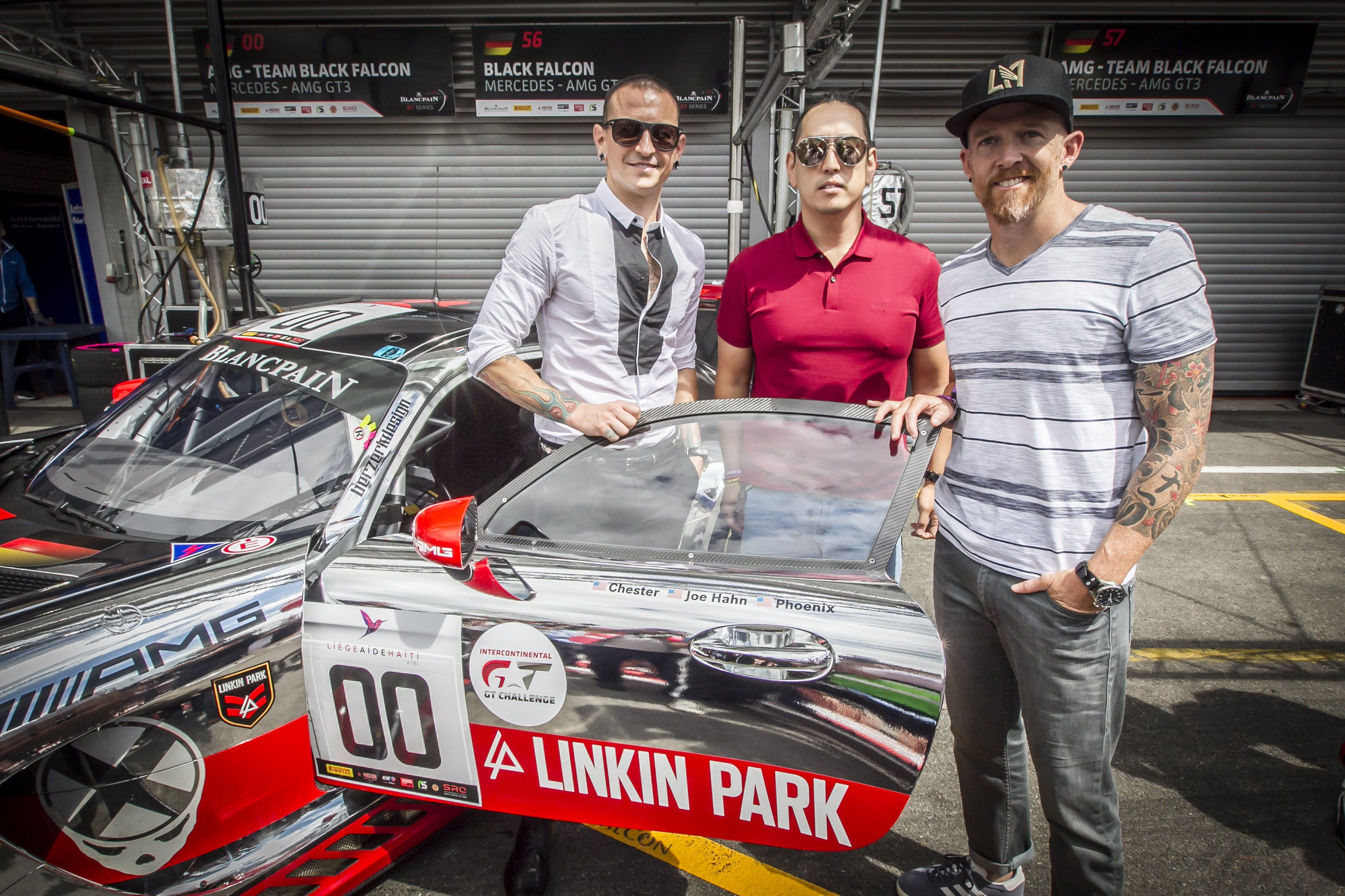Interview: Linkin Park on Cars and their Partnership with Mercedes-AMG