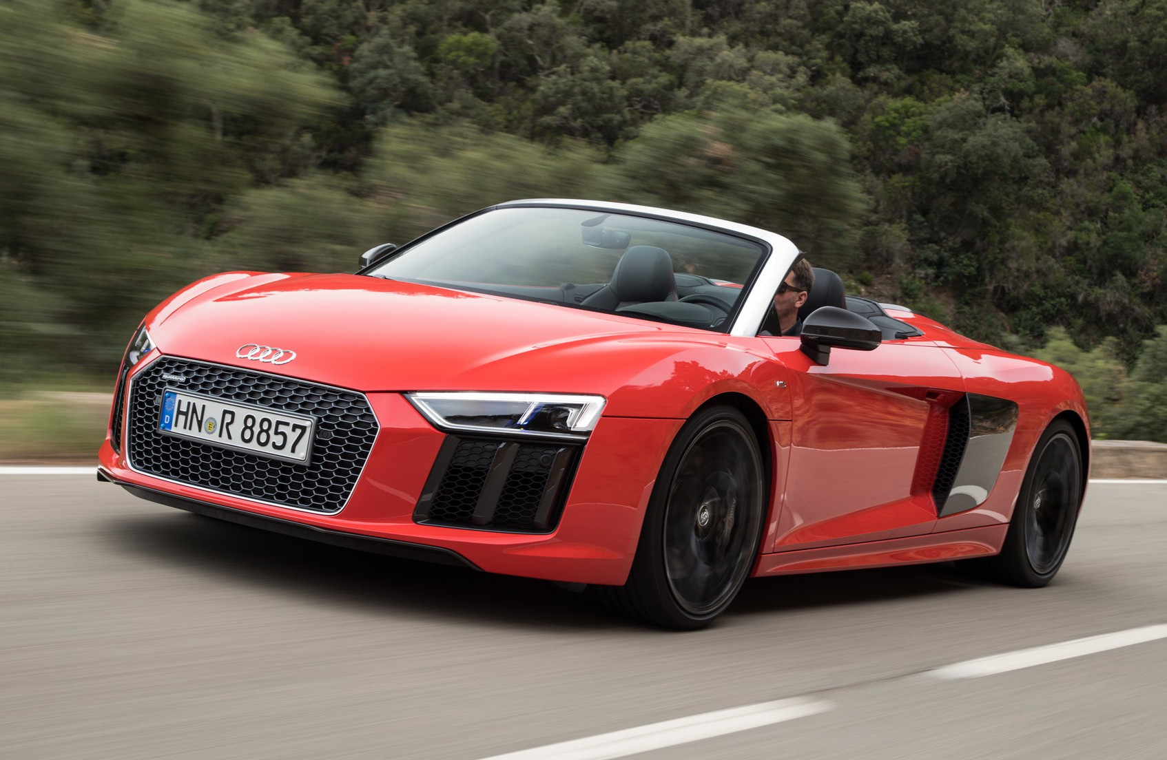 2017 Audi R8 V10 Spyder Review Gtspirit