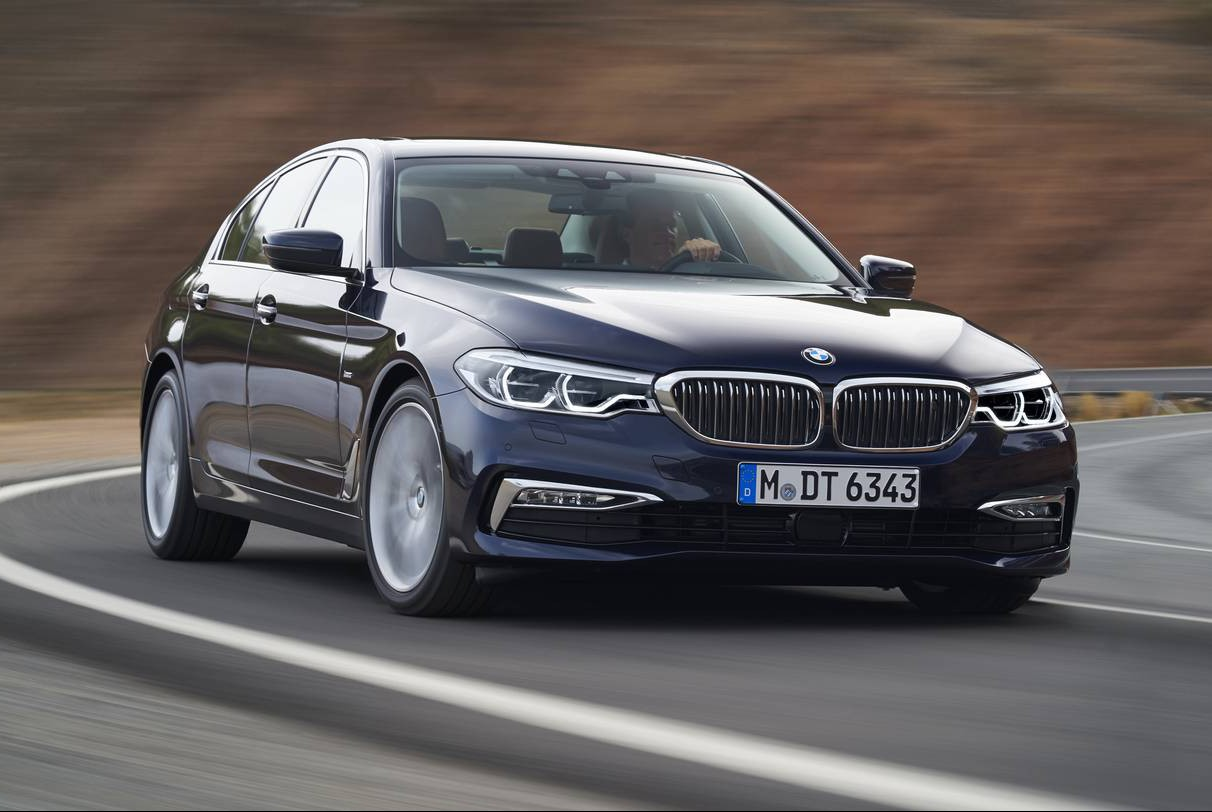 Official: 2018 BMW G30 5 Series