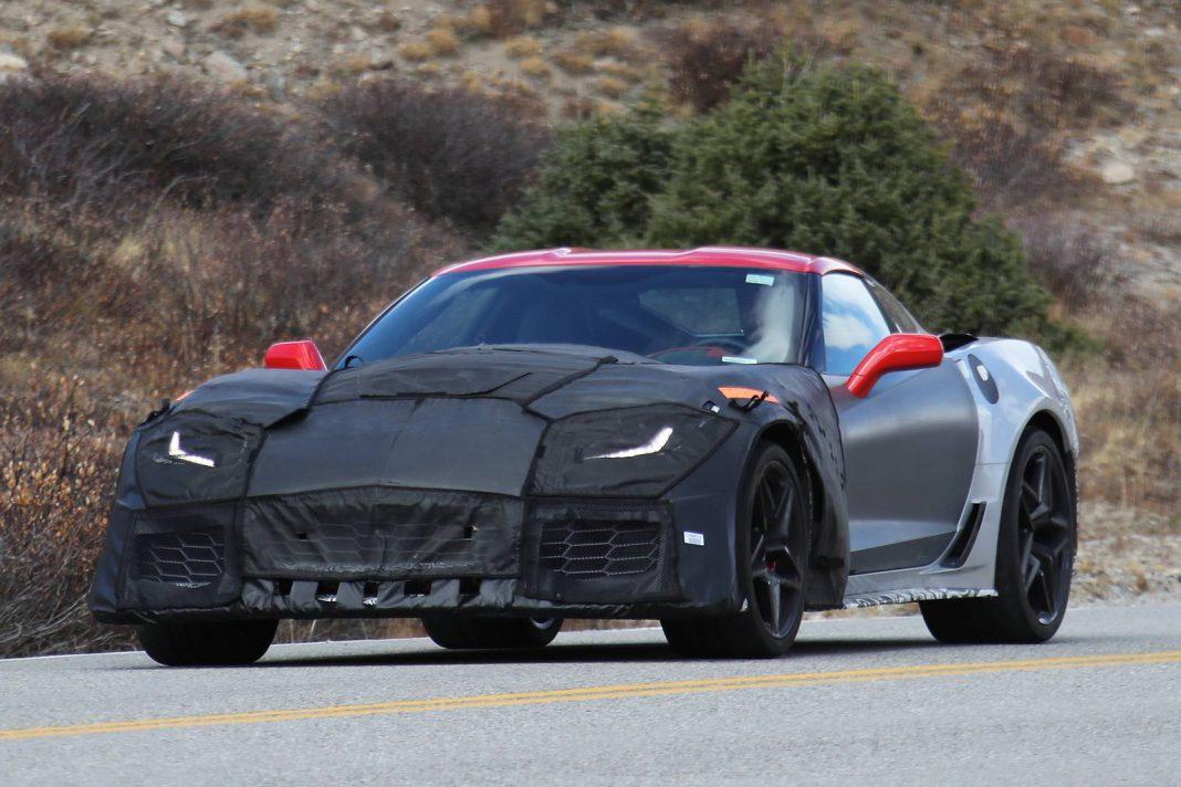 2018 corvette zr1 latest spy shots 700hp and more gtspirit. Black Bedroom Furniture Sets. Home Design Ideas
