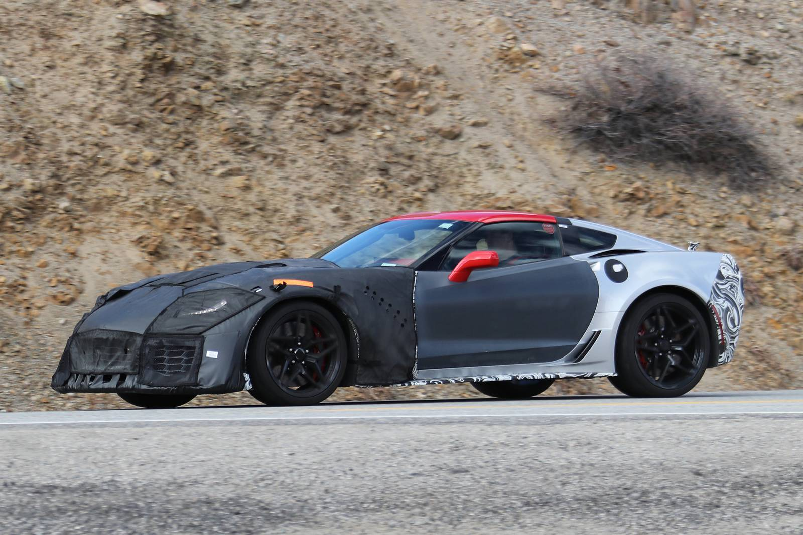 2018 corvette zr1 latest spy shots 700hp and more gtspirit. Black Bedroom Furniture Sets. Home Design Ideas