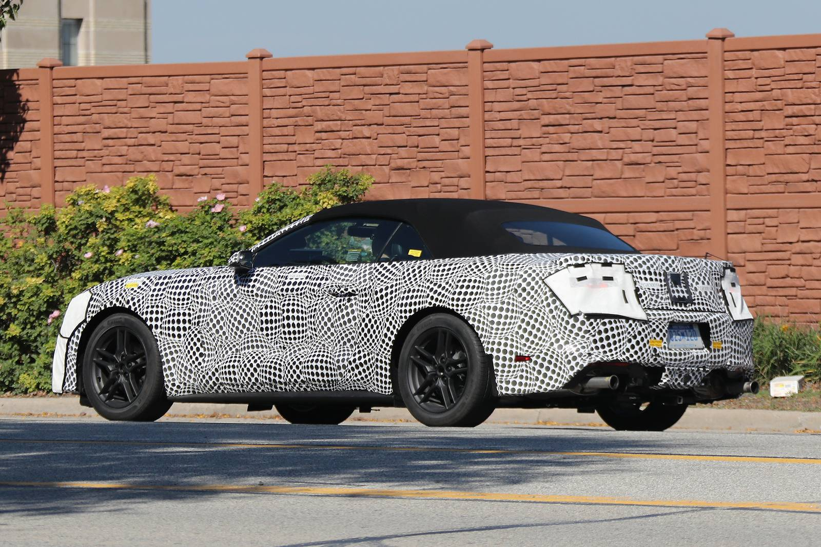 2018 Ford Mustang Convertible Spy Shots Gtspirit