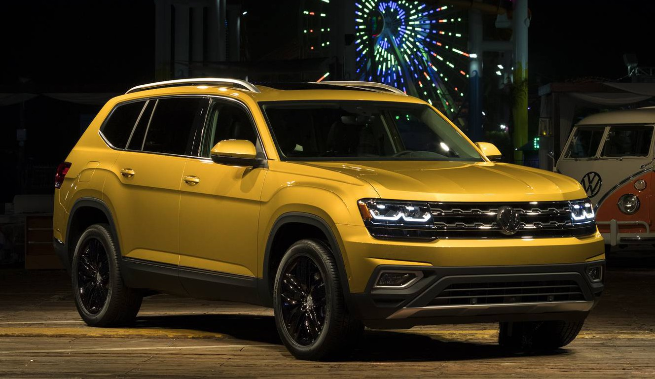 2018 Volkswagen Atlas First Impression Review - GTspirit