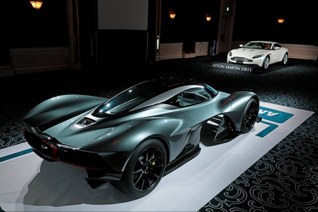 Aston Martin AM-RB 001 Hypercar to use N/A Cosworth V12