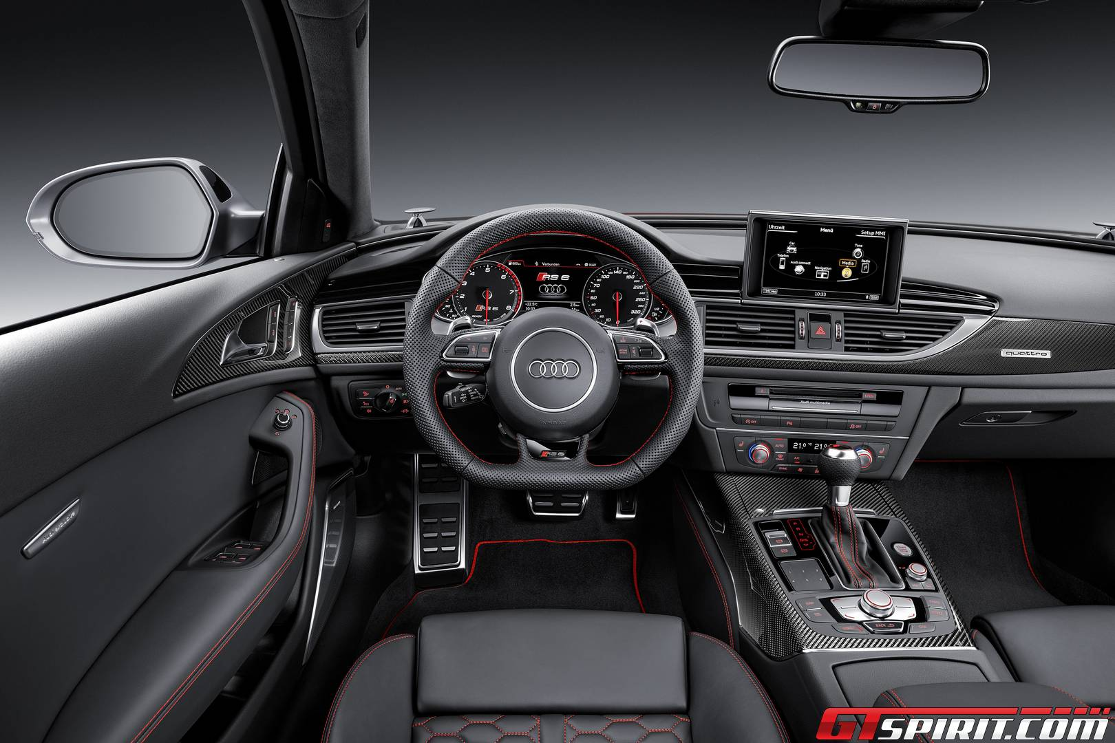 Audi RS Performance The Mile Review GTspirit - Audi rs6