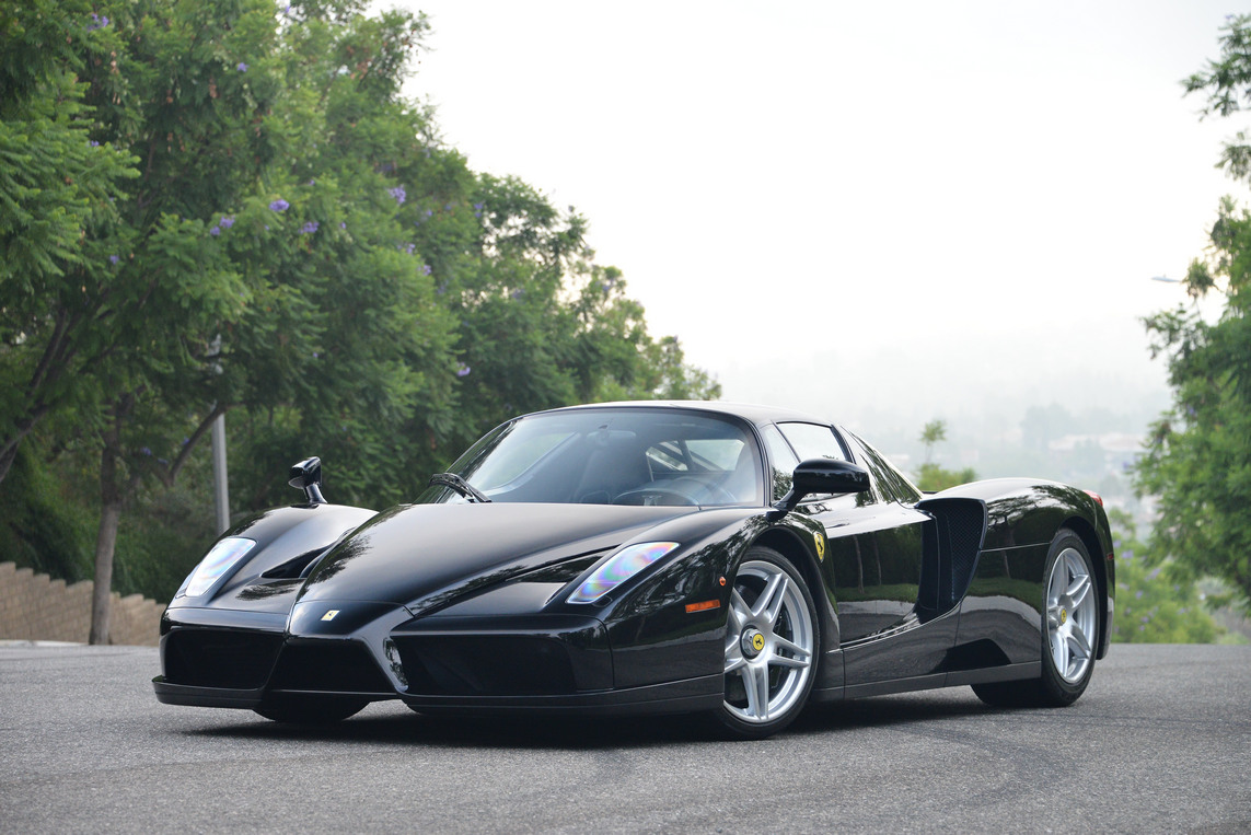 Black Ferrari Enzo for Sale in the US at $3,400,000 , GTspirit