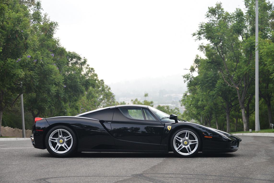 black ferrari enzo for sale in the us at 3400000 gtspirit