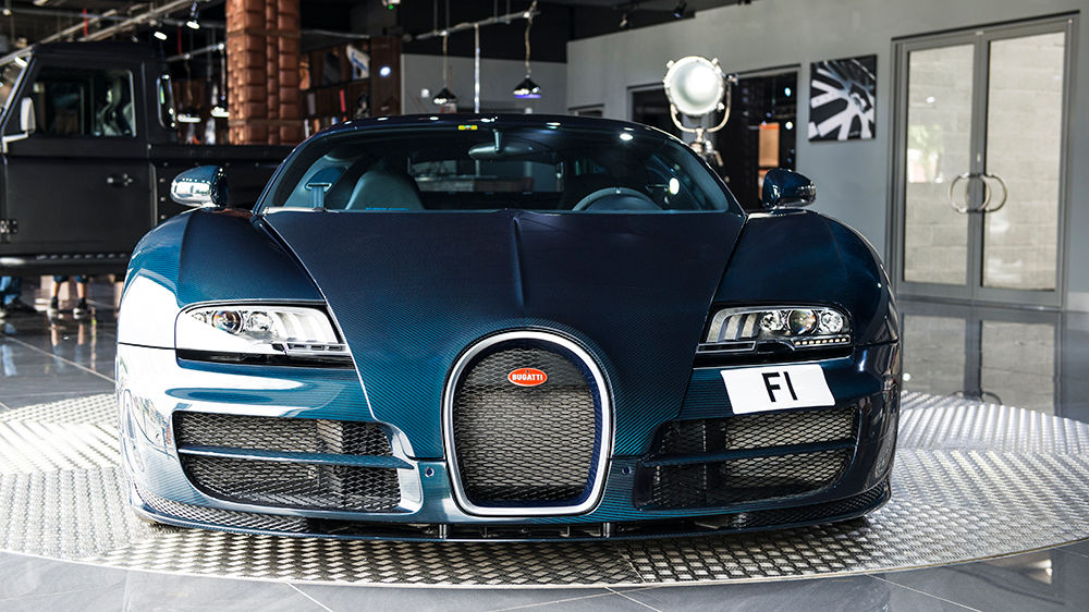 Blue Carbon Bugatti Veyron Super Sport For Sale At 2 300 000 Gtspirit