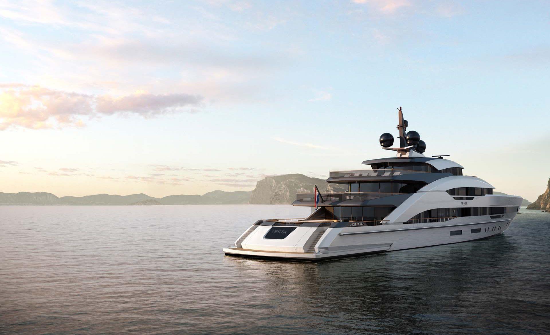 Superyacht Sunday: Meet the Largest Heesen Yacht - Project