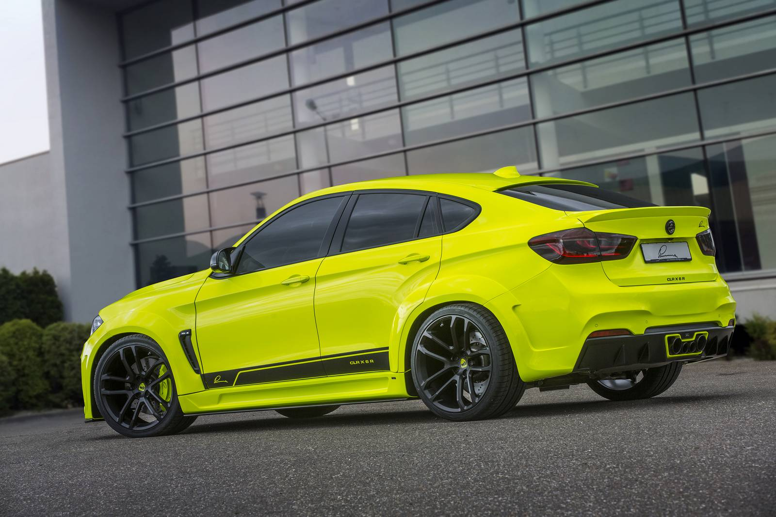 Official 750hp Lumma Design Bmw X6 M Widebody Gtspirit