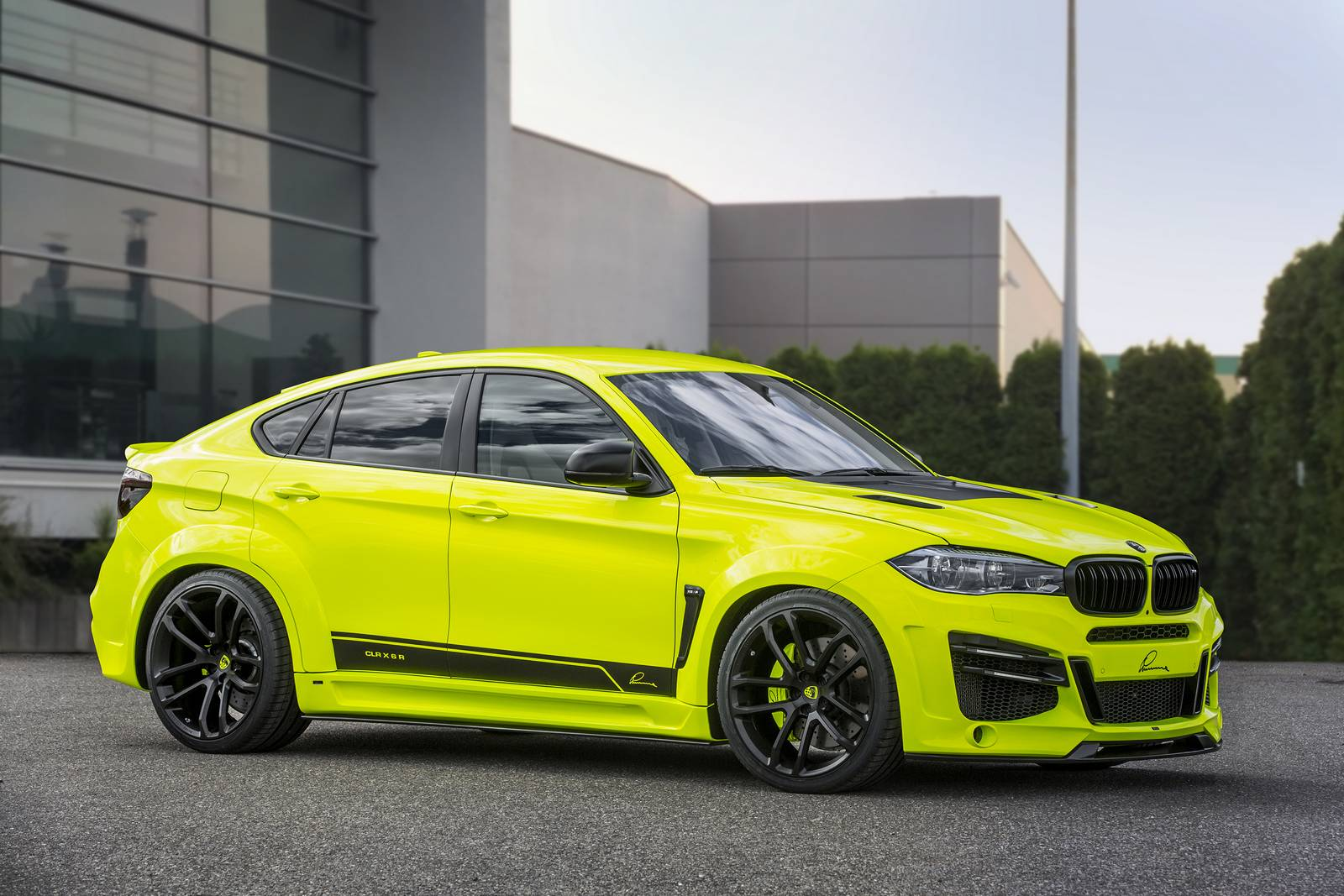 official 750hp lumma design bmw x6 m widebody gtspirit. Black Bedroom Furniture Sets. Home Design Ideas
