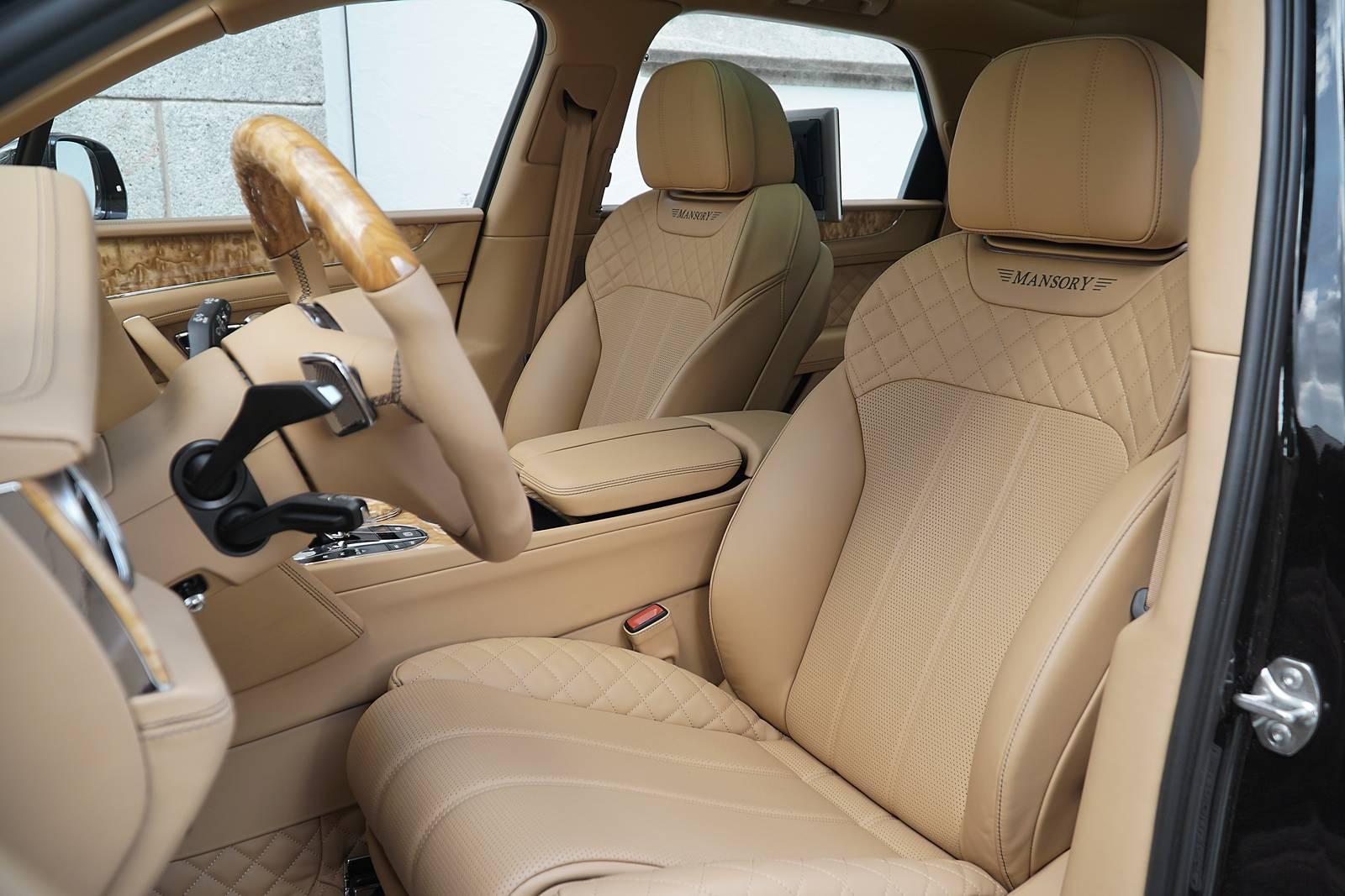 Official 700hp Bentley Bentayga By Mansory Gtspirit