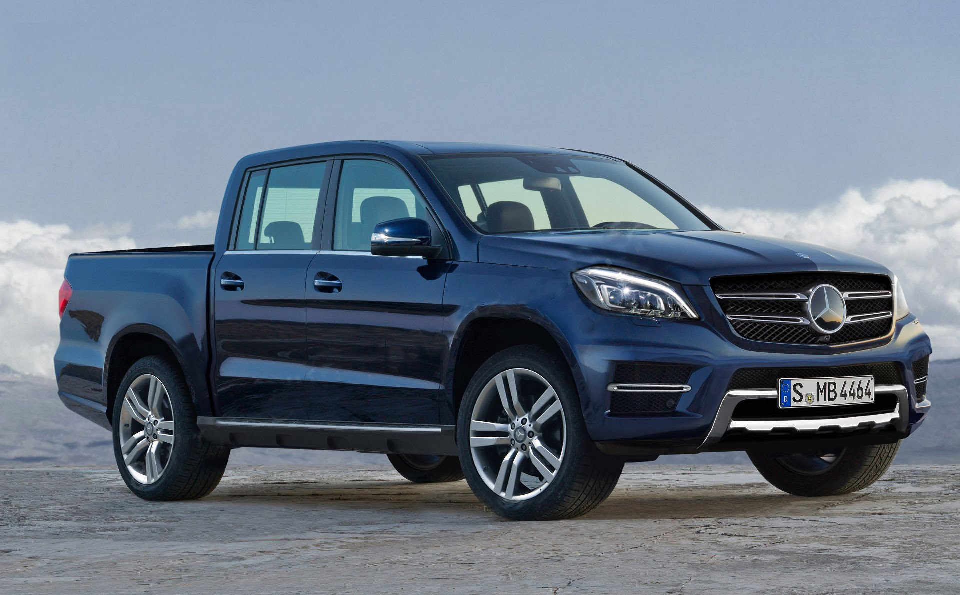 live mercedes benz pick up launch in sweden october 25th