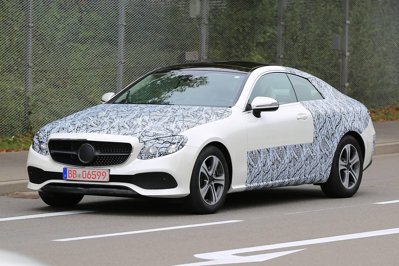 2018 Mercedes-Benz E-Class Coupé Spy Shots