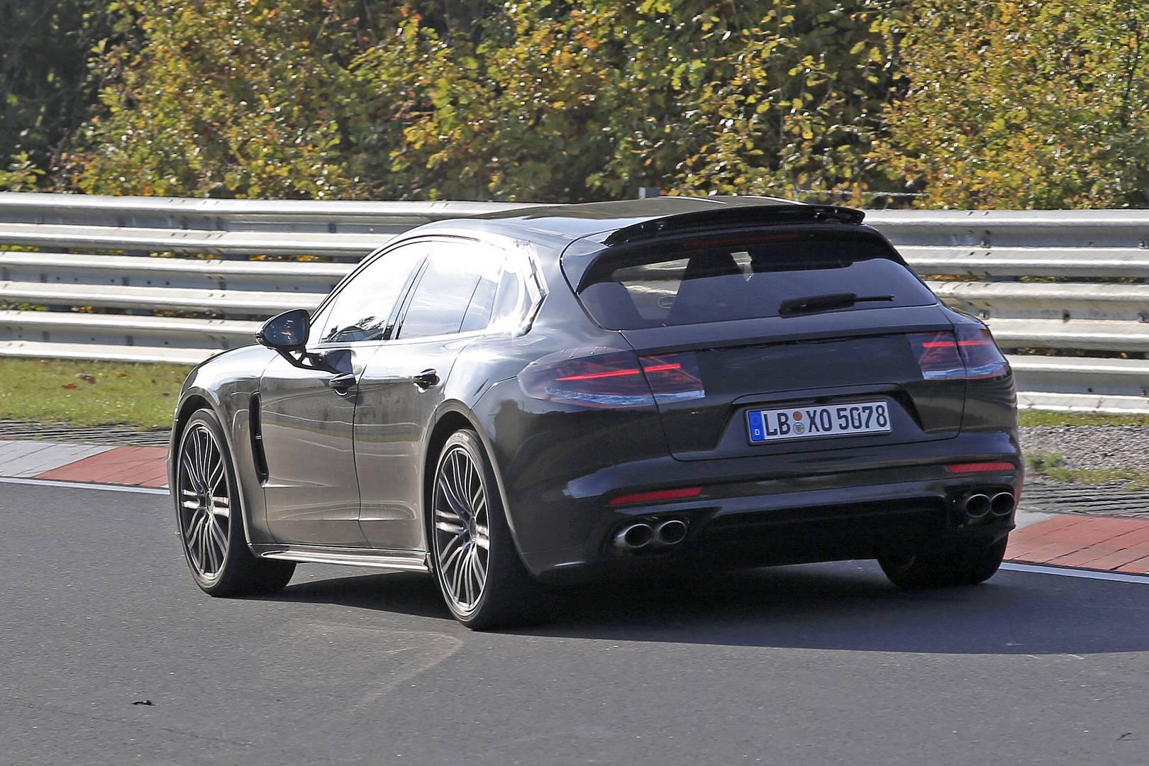 2018 porsche panamera shooting brake latest spy shots gtspirit - Porsche Panamera Shooting Brake