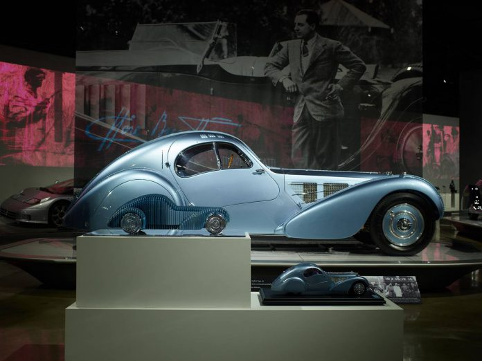 The Art of Bugatti Exhibition at the Petersen Museum