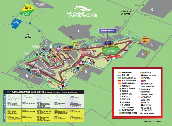 United States GP Map