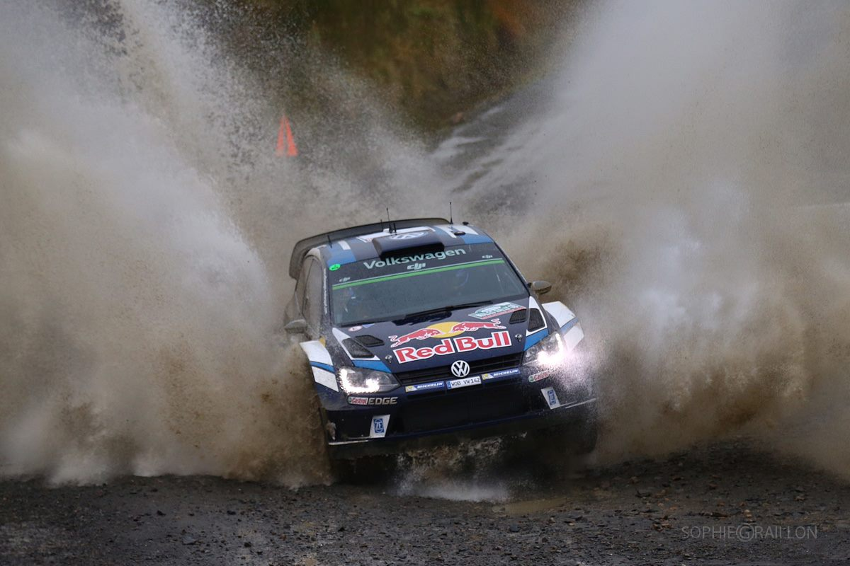 WRC: Ogier Wins 4th Rally GB as VW Takes Constructors' Crown