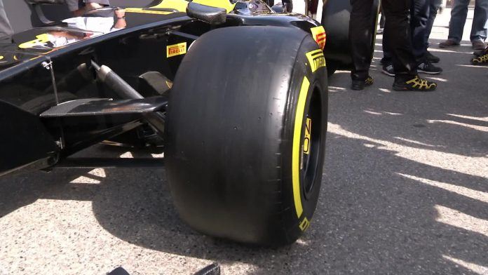 Wider F1 Tires 2017 - Sky Sports