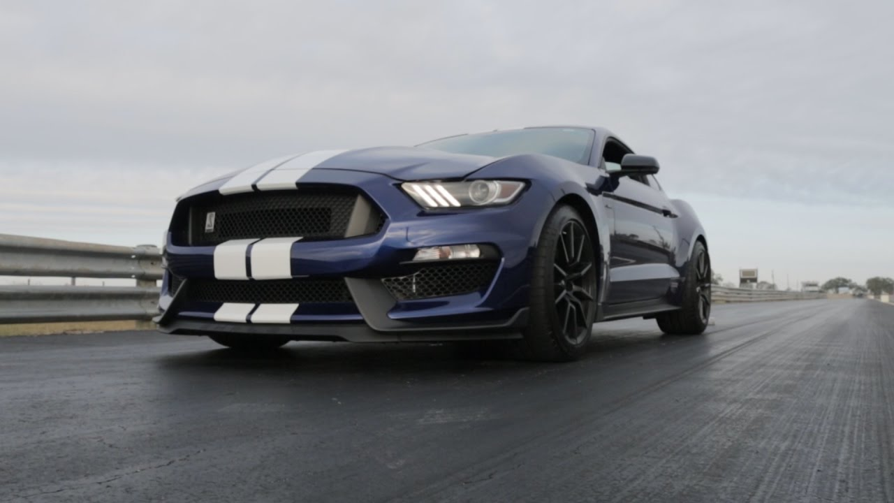 Video: 800hp Hennessey Shelby GT350 Unleashed on the Track