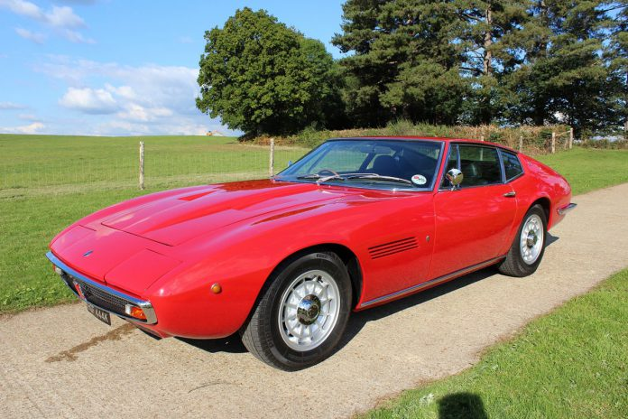 1972 Maserati Ghibli 4.9 SS