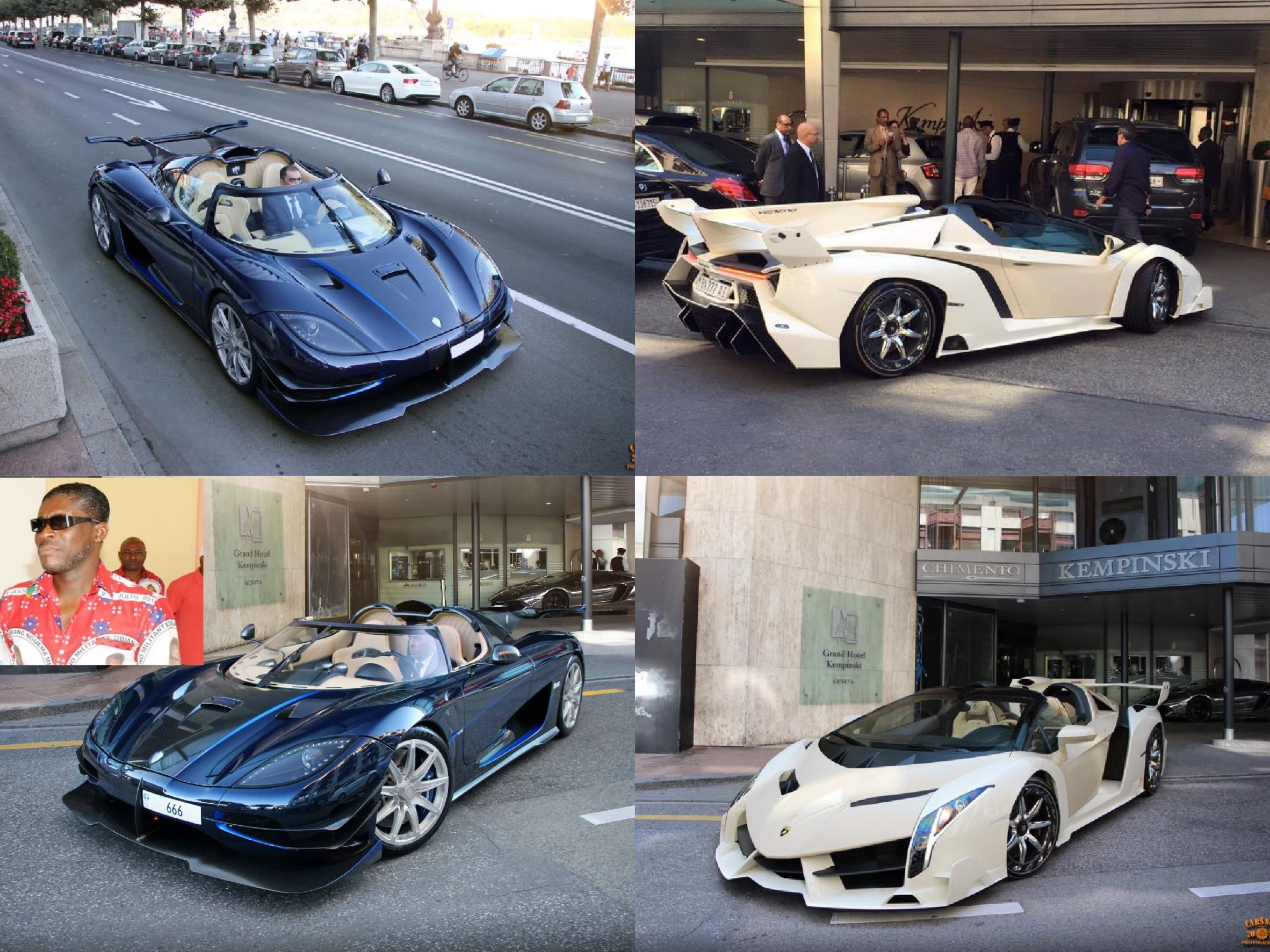 Koenigsegg One:1 and Veneno Seized from African Dictator's Son