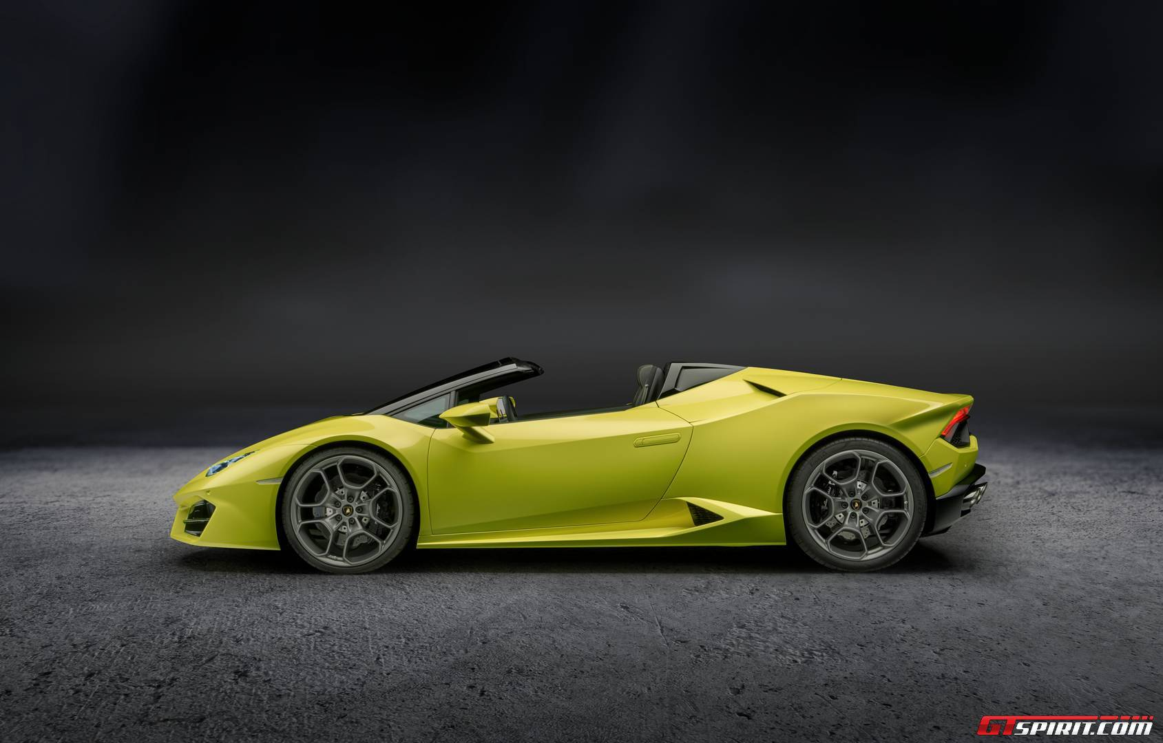 official 2017 lamborghini huracan rwd spyder gtspirit. Black Bedroom Furniture Sets. Home Design Ideas