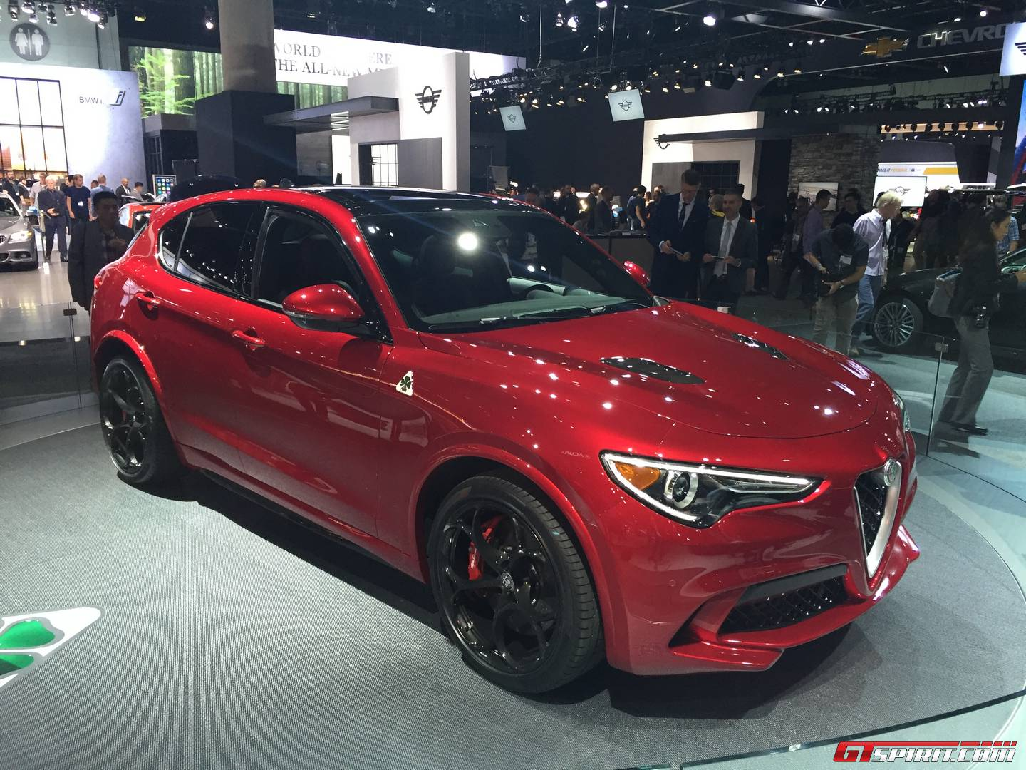 Alfa Romeo Stelvio Is Basically The Giulia SUV