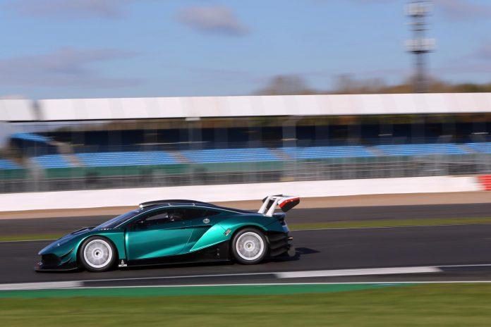 Arrinera Hussarya GT testing at Silverstone