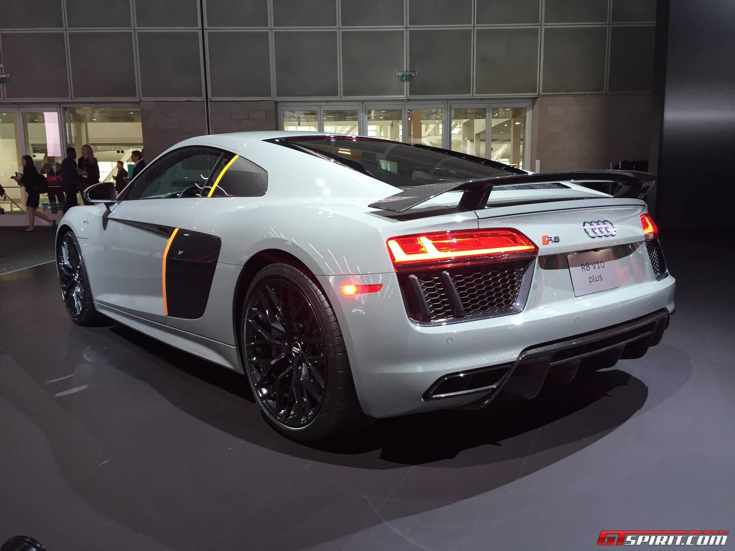 La Auto Show 2016 Audi R8 V10 Plus Exclusive Edition With Laserlight Gtspirit