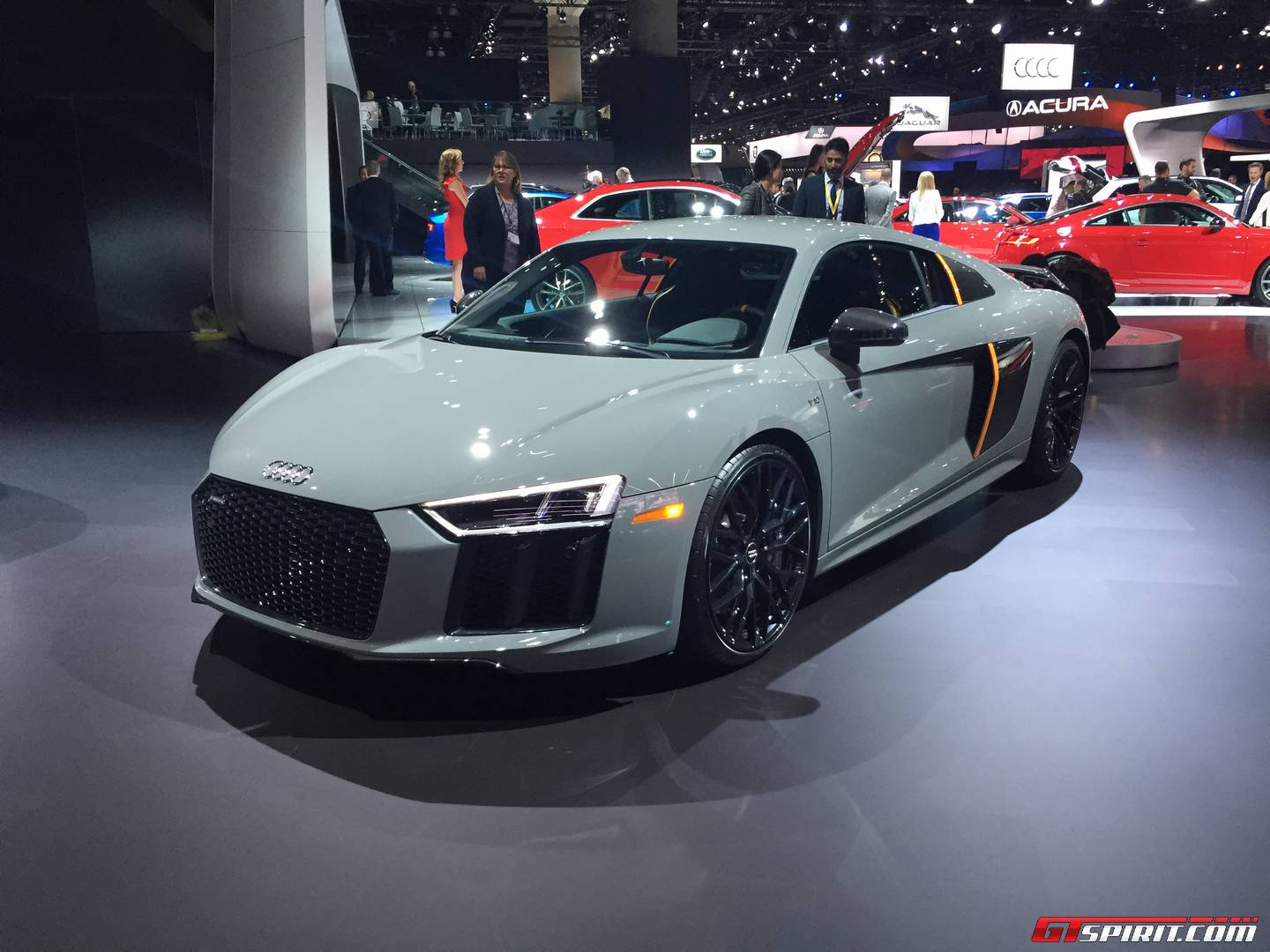 la auto show 2016 audi r8 v10 plus exclusive edition with. Black Bedroom Furniture Sets. Home Design Ideas