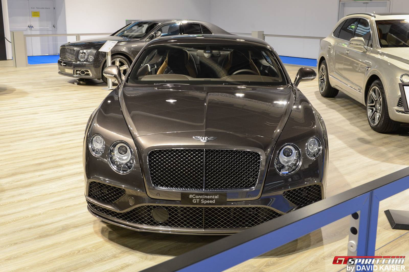 1 of 6 Bentley Continental GT Speed Zurich Edition