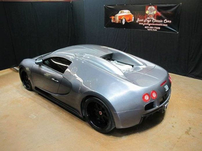 bugatti veyron replica based on mercury cougar asking 81 995 gtspirit. Black Bedroom Furniture Sets. Home Design Ideas