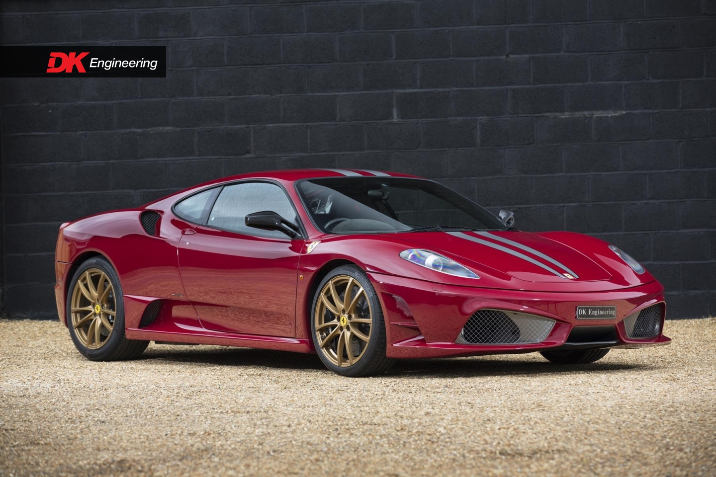 Rosso Mugello Ferrari 430 Scuderia for Sale at £204,995 in the UK
