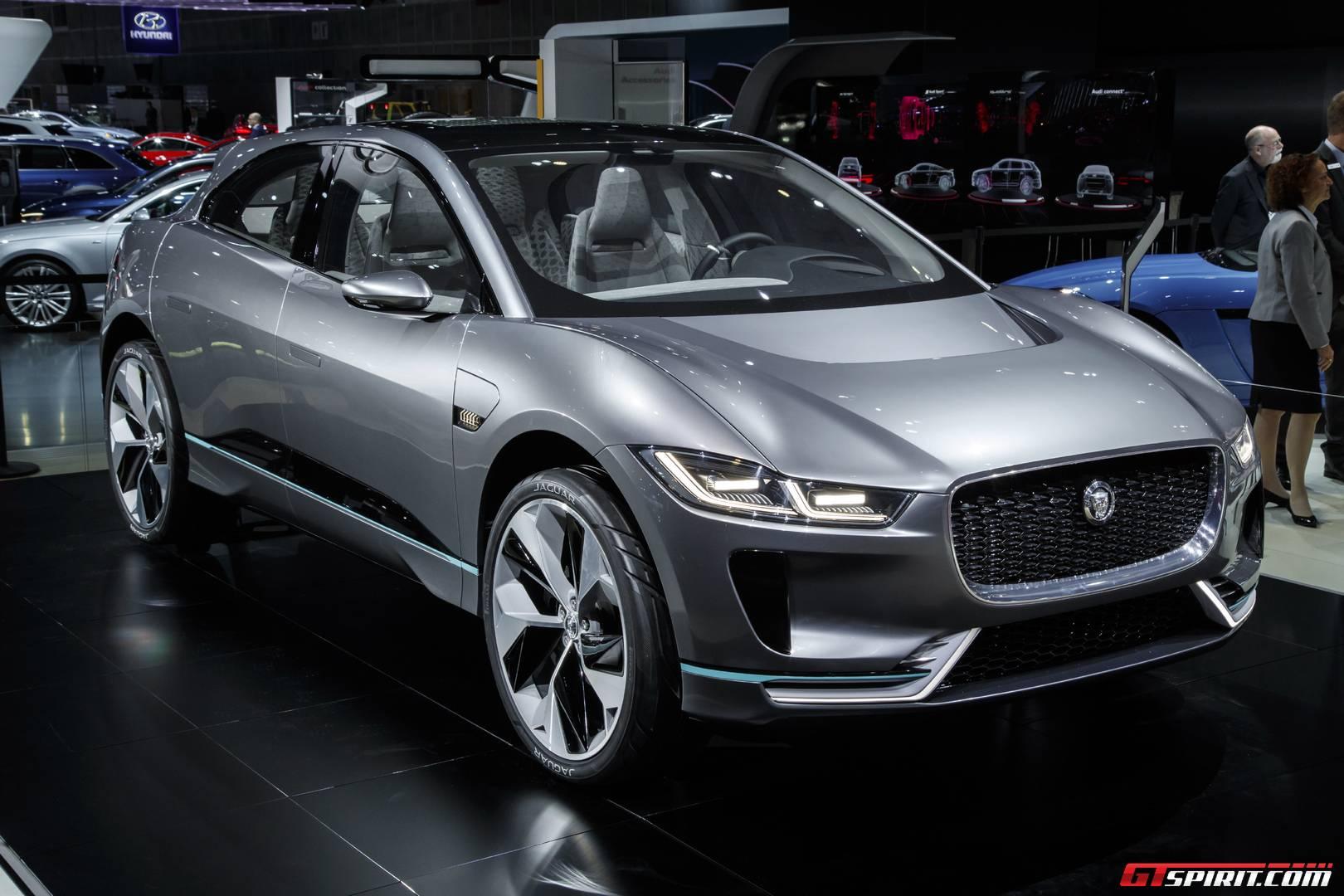 LA Auto Show 2016: Jaguar I-PACE Electric SUV - GTspirit