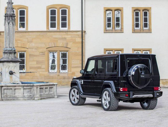 Nr 2125-B HOFELE Mercedes G-Wagon, silver wheels