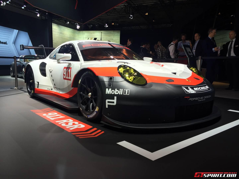 Porsche's mid-engine 911 RSR endurance racer