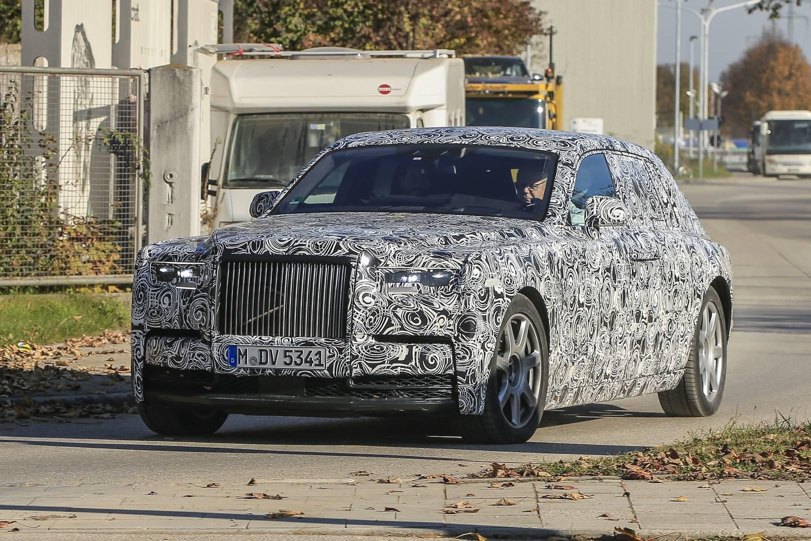 Rolls-Royce Phantom Successor Latest Spy Shots